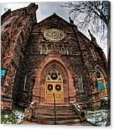 Architecture And Places In The Q.c. Series 01 Trinity Episcopal Church Acrylic Print