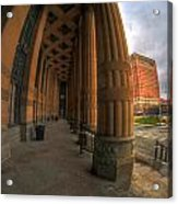 Architecture And Places In The Q.c. Series 03 City Hall Acrylic Print