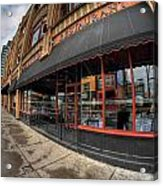 Architecture And Places In The Q.c. Series Bacchus Restaurant Acrylic Print