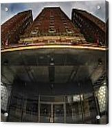 Architecture And Places In The Q.c. Series The Statler Towers Acrylic Print