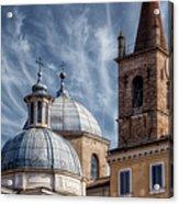 Architecture Del Popolo Acrylic Print