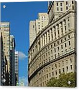 Architecture In New York City Acrylic Print