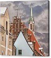 Architecture In Riga Latvia Acrylic Print