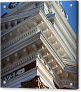 Architecture In The Morgan County Court House Acrylic Print