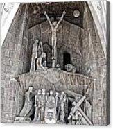 Architecture Of Sagrada Familia Barcelona Acrylic Print