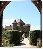 Archway Chateau Of Berze Acrylic Print