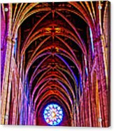 Archway In Grace Cathedral In San Francisco-california Acrylic Print