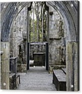 Archway Muckross Abbey Acrylic Print