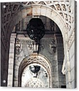 Archways At The Library Acrylic Print