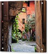 Arco Degli Acetari Acrylic Print