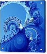 Arctic Blue Acrylic Print