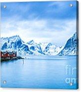 Arctic Dawn Lofoten Islands Acrylic Print