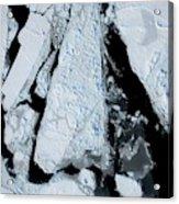 Arctic Sea Ice At Lowest Maximum Acrylic Print