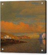 Arctic Sunset Acrylic Print