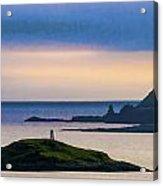 Ardtreck Point Lighthouse Acrylic Print