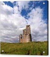 Ardvreck Castle Portrait Acrylic Print