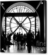 Are We In Time... Acrylic Print