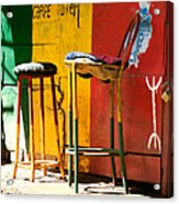Are You Sitting Comfortably Acrylic Print