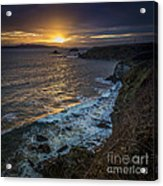 Ares Estuary Mouth Galicia Spain Acrylic Print