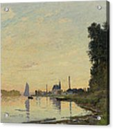 Argenteuil Late Afternoon Acrylic Print
