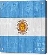 Argentina Flag Acrylic Print