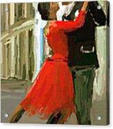 Argentina Tango Acrylic Print by James Shepherd