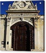 Argentinian Door Decor 3 Acrylic Print
