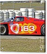 Argo Mazda Gtp Race Car At Sebring Raceway Acrylic Print