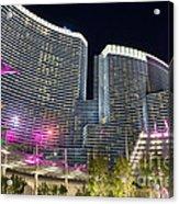 Aria Light - Aria Resort And Casino At Citycenter In Las Vegas Acrylic Print