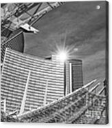 Aria Sun - Aria Resort And Casino At Citycenter In Las Vegas Acrylic Print