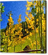 Arizona Autumn Ver 2 Acrylic Print