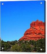 Arizona Bell Rock Hdr Acrylic Print