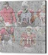 Arizona Cardinals Legends Acrylic Print