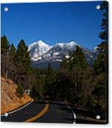Arizona Country Road  Acrylic Print