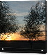 Arizona Desert Sunrise Acrylic Print