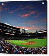 Arizona Diamondbacks V Atlanta Braves Acrylic Print