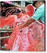 Arizona Diamondbacks V Boston Red Sox Acrylic Print