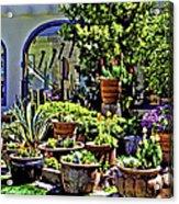 Tucson Garden Acrylic Print