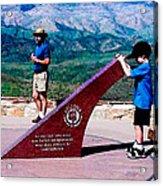 Arizona Highway Patrol Memorial Acrylic Print