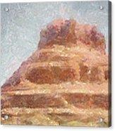 Arizona Mesa Acrylic Print