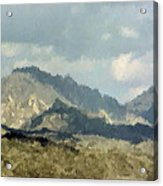 Arizona Mountains Acrylic Print