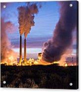 Arizona Power Plant Acrylic Print