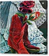 Arizona Rose Acrylic Print