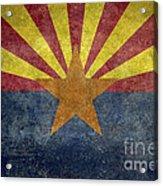 Arizona State Flag Acrylic Print