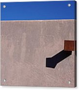 Arizona Stucco With Scupper Acrylic Print