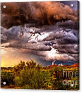 Arizona Sunset 5 Acrylic Print