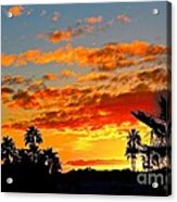 Beautiful Arizona Sunset Acrylic Print