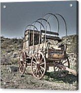 Arizona Wagon Acrylic Print