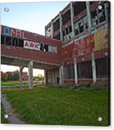 Ark At The Packard Plant Acrylic Print