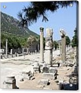 Arkadiane - Harbor Street Ephesus Acrylic Print